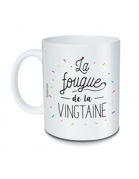 Mug La fougue de la vingtaine