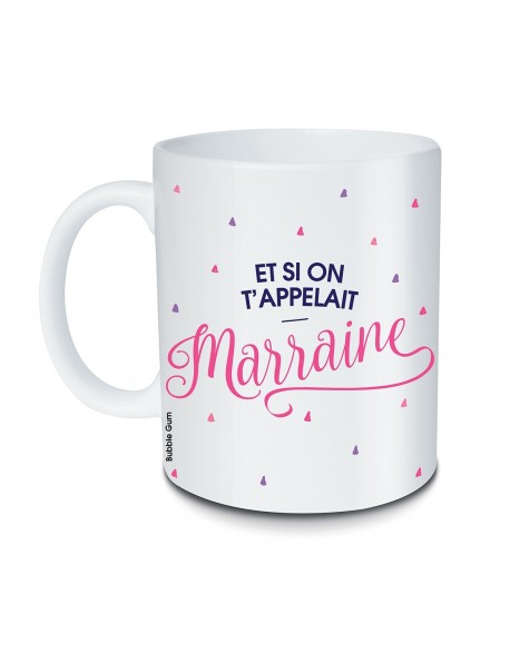 Mug Et si on t'appelait Marraine