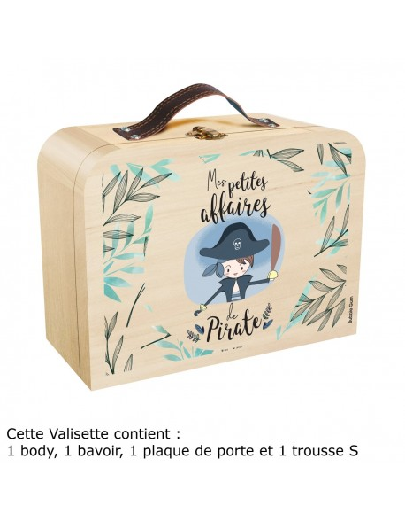 Coffret valisette - Mes affaires de pirate