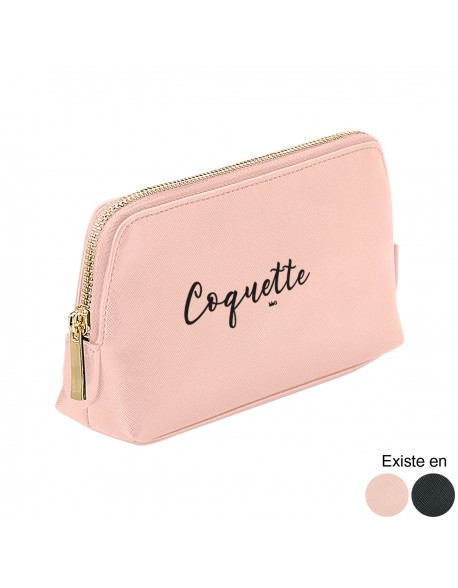 Trousse maquillage simili - Coquette