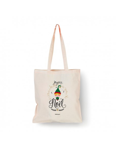 Tote bag Naturel Lutin couleur